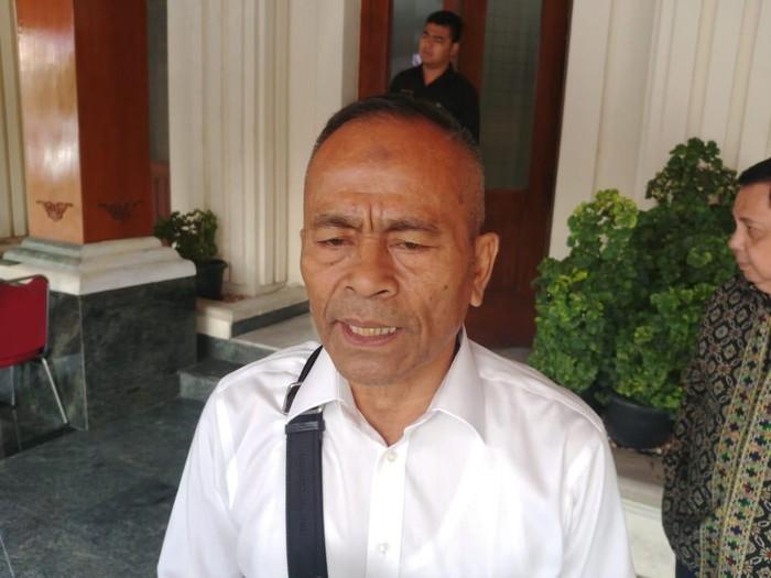 Ketua Umum Persatuan Wartawan Indonesia (PWI) Atal S Depari