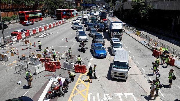 Sampai Blokir MRT, Apa Tuntutan Pengunjuk Rasa di Hong Kong?