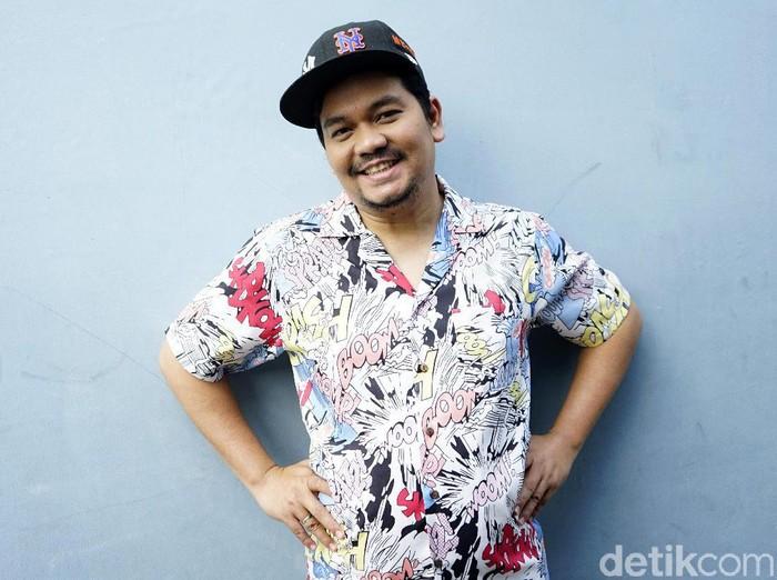 Indra Bekti saat ditemui di studio Trans TV.