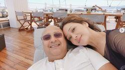 Suami Ultah, Maia: Semoga Panjang Umur, Jadi Bisa Habiskan Waktu Berdua