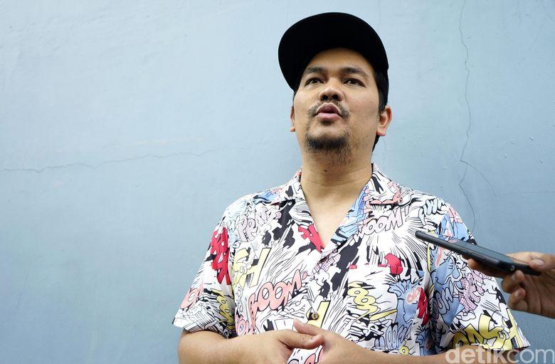 Indra Bekti saat ditemui di studio Trans TV, Kapten Tendean, Jakarta Selatan pada Senin (5/8).Pool/Palevi S/detikFoto.