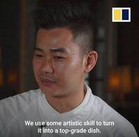 Super Tipis! Chef Ini Potong Tahu Sutera Setipis Helaian Rambut