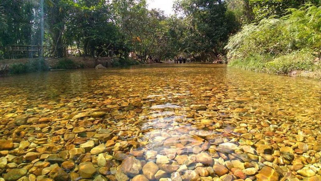 Sungai Sejernih Kaca di Sumatera Barat
