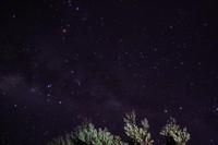 Puncak Gunung Lawu juga tak kalah indah saat malam. Bawalah tripod, dan berburulah foto rasi bintang yang indah dari puncak gunung cantik tapi mistis ini. (Harry Rahmawan/dTraveler)