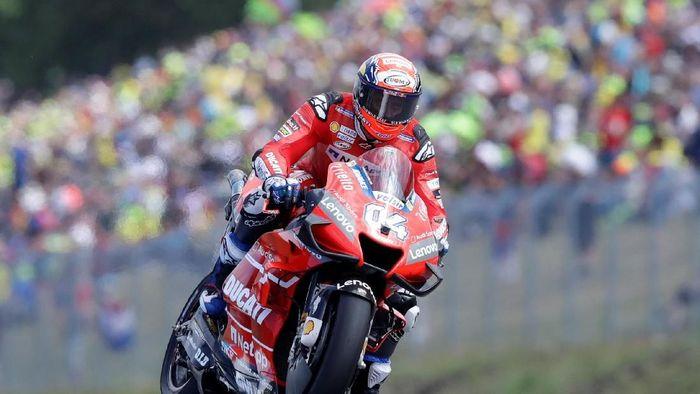 Andrea Dovizioso tercepat di FP1 MotoGP Austria. (Foto: REUTERS/David W Cerny)