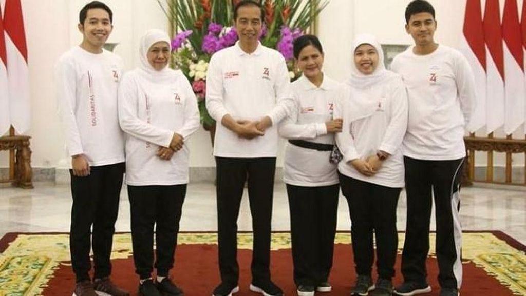 Kesan Mendalam Khofifah Soal Family Gathering di Istana Bogor