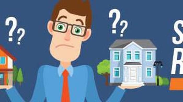 Susahnya orang Indonesia beli rumah