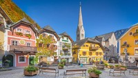 Kami di Hallstatt, 95% bergantung pada turis asing. Jika perbatasan tetap ditutup, ini akan jadi situasi yang sangat sangat sulit untuk menjalankan bisnis, kata Markus, salah seorang warga Hallstatt. (iStock)