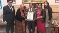 Sukses Gelar Festival Indonesia di Moskow, Dubes RI untuk Rusia Raih MURI