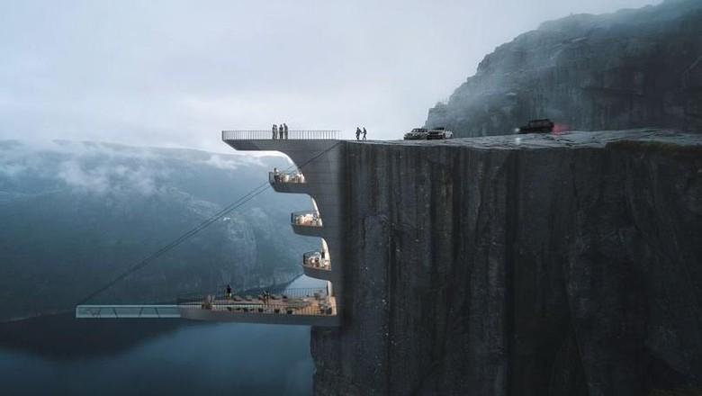Preikestolen di Norwegia (Hayri Atak Architectural Design Studio)