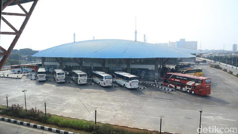 Foto: Terminal Pulogebang (Johanes Randy/detikcom)