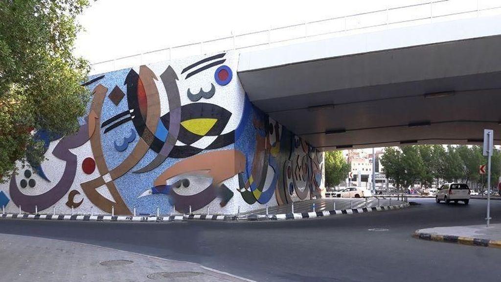 Ternyata Mekah Memiliki Mural Keren