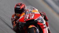 Marquez Mungkin Start Buruk di Qatar, Honda Beruntung MotoGP Ditunda