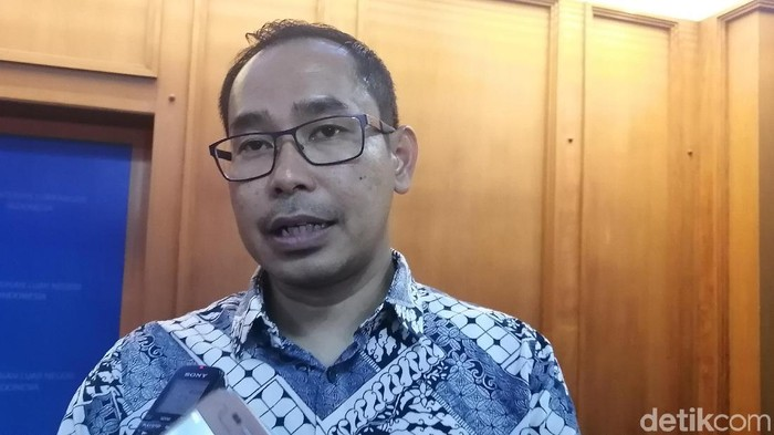 Direktur Perlindungan Warga Negara Indonesia dan Badan Hukum Indonesia Kemlu Judha Nugraha (Zakia/detikcom)