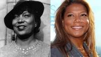 Queen Latifah juga memiliki kembaran yang dikenal sebagai penulis yakni Zora Neale Hurston.Dok. Ist