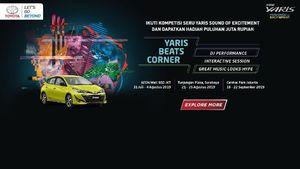 Toyota Yaris Beats Corner