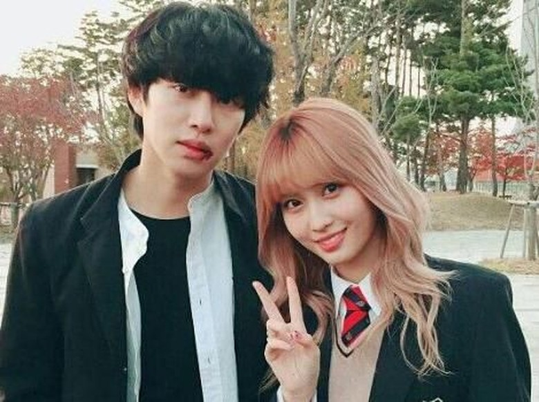 Foto: Momo TWICE dan Heechul Super Junior (dok. ist)