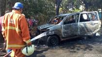 Usai Mengisi 3 Drum BBM, Mobil Ini Mogok Lalu Meledak dan Terbakar