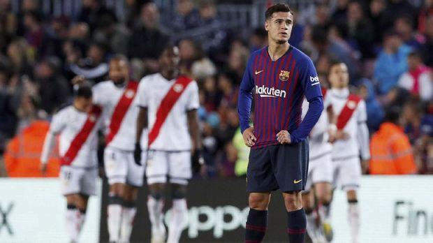 Coutinho seolah meredup sinarnya ketika memperkuat Barcelona. (