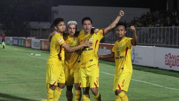 Bhayangkara FC tiga kali imbang dalam lima laga terakhir.