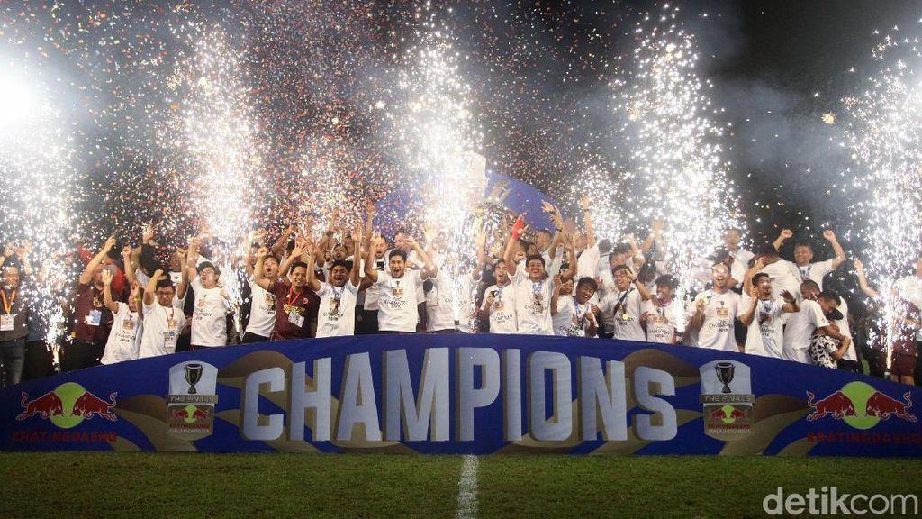 PSM Pede Kawinkan Gelar Juara Piala Indonesia dan Liga 1 2019
