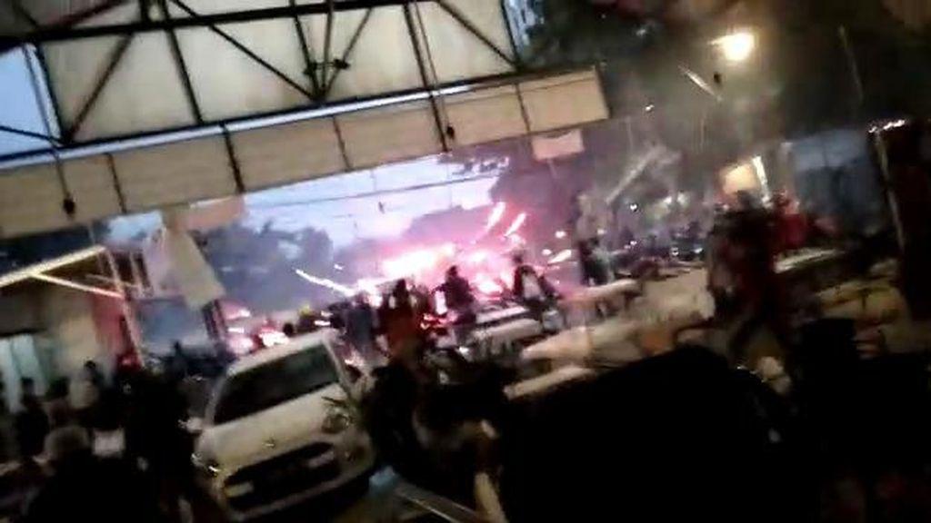 Sekelompok Pemuda Menyerang Lokasi Nobar PSM vs Persija