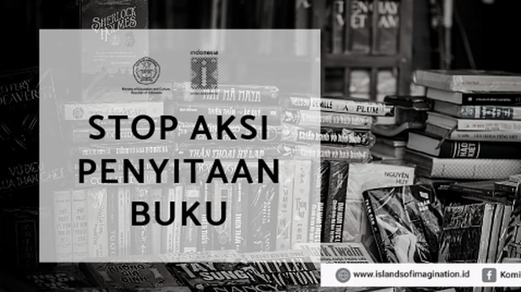 Komite Buku Nasional Kecam Aksi Razia Buku-buku Marxisme