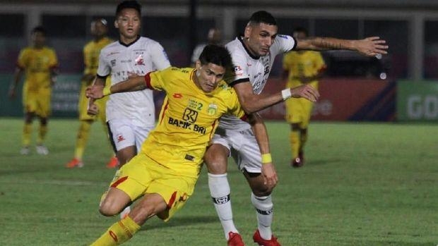 Hasil Liga 1: Persebaya Tekuk Bhayangkara FC, David da Silva