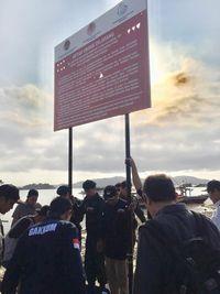 Diduga ada beberapa pelanggaran lain di Pantai Sari Ringgung
