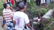 4 Pelajar Tewas Tertimpa Gorong-gorong Saat Mencari Ikan