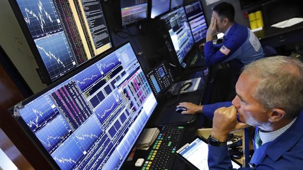 Wall Street di Zona Positif Sambut Akhir Pekan