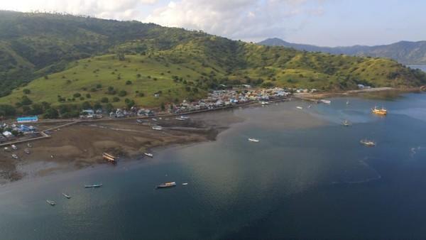 Terdapat 2.000 jiwa penduduk di Desa Komodo yang terbagi dalam 500 KK, 5 dusun dan 10 RT (dok Istimewa)