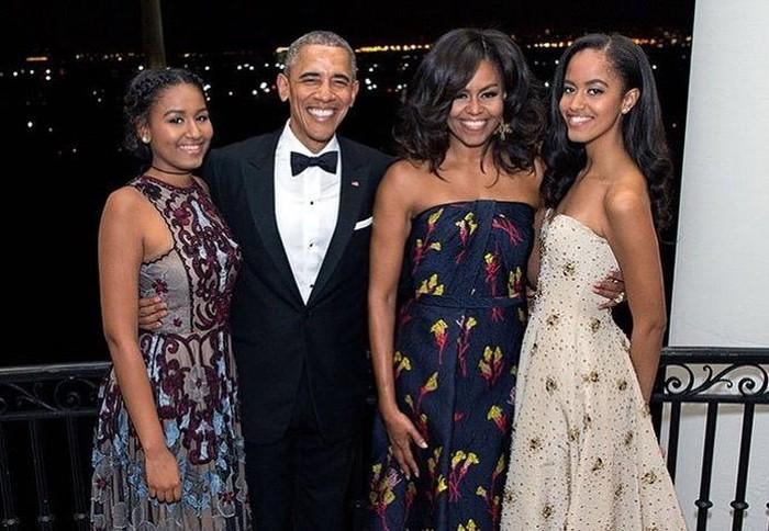 Michelle Obama dan Barack Obama