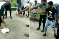Kelompok Pemuda Ini Dikecam Setelah Potong Kue dengan Senjata Api