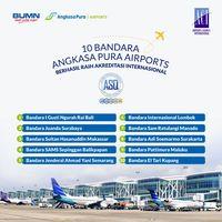 10 Bandara Angkasa Pura I Raih Akreditasi Pelayanan Bandara Dunia