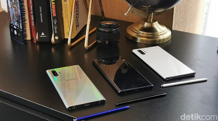 Samsung Galaxy Note 10+. (Foto: detikINET/Kris Fathoni W)