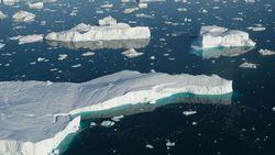 Gelombang Panas, 8 Miliar Ton Lapisan Es Mencair di Greendland
