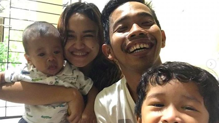 Anak kedua Dede Sunandar mengidap Sindrom Williams. Foto: Instagram @dede_sunandar