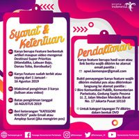 Yuk Ikut Lomba Tulis & Video Wisata Berhadiah Total Rp 500 Juta