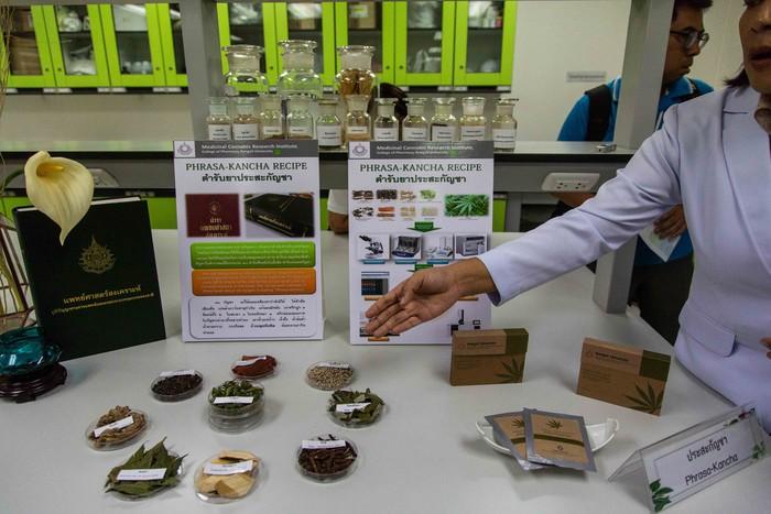 Thailand menjadi negara pertama di Asia Tenggara yang melegalkan penggunaan ganja untuk pengobatan dan pengembangan ilmu pengetahuan. Untuk pengembangan tersebut Thailand pun membangun laboratorium ganja legal pertama di sana.