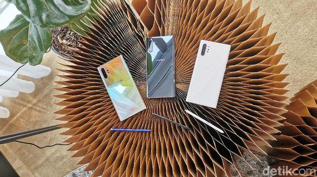 Harga Samsung Galaxy Note 10 & Galaxy Note 10 Plus di Indonesia