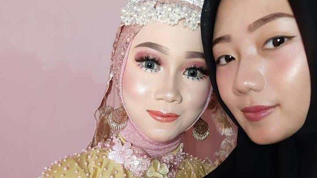 TKI Taiwan Tipu Calon Suami TKI Korea Pakai Foto Dukun Manten Cantik Ini