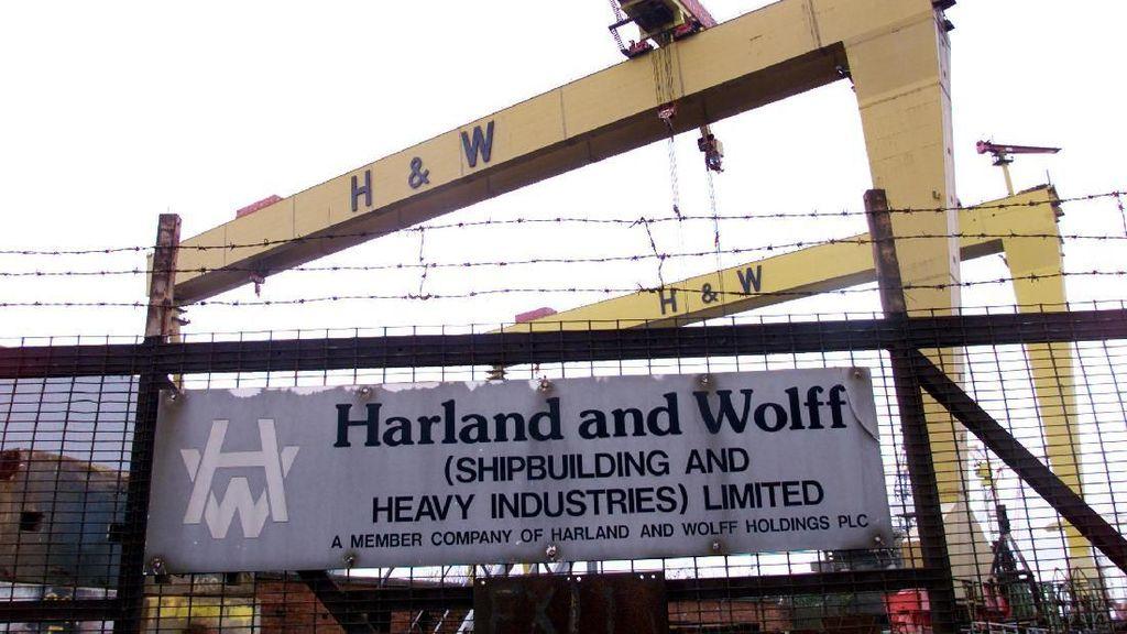 Galangan Kapal Pembuat Titanic Bangkrut, Pekerja Gelar Aksi Protes