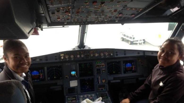 Wawancara Khusus ABC dengan Dua Pilot Perempuan Pertama Asal Papua