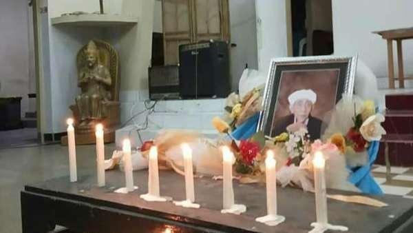 Pemuda Lintas Agama Mojokerto Doa Bersama untuk Mbah Moen di Gereja