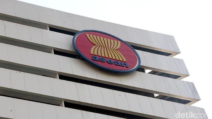 Gedung Sekretariat ASEAN diresmikan Jokowi hari ini. Sebelum menjadi gedung Sekretariat ASEAN, bangunan itumerupakan kantor Wali Kota Jakarta Selatan.