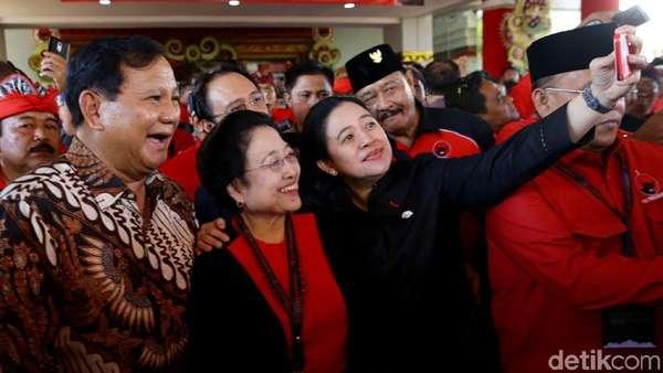 Megawati dan Prabowo: Sekarang Akur, 2024 Siap Tempur