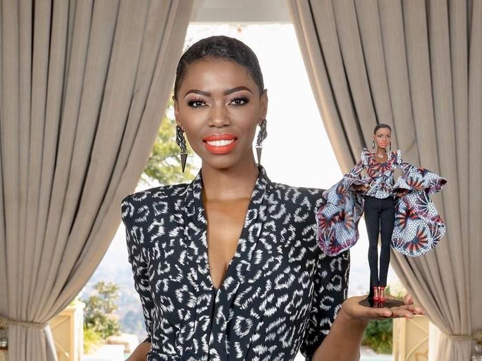 Lira, perempuan Afrika pertama yang dijadikan Barbie. (Foto: Instagram/@miss_lira)