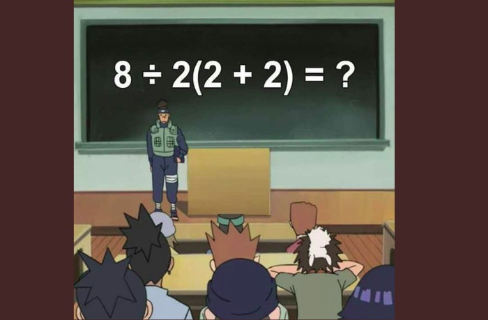 Soal matematika viral. Foto: Twitter