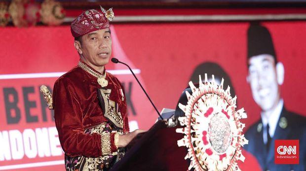 Presiden Joko Widodo mengatakan kekuatan koalisinya sudah cukup.